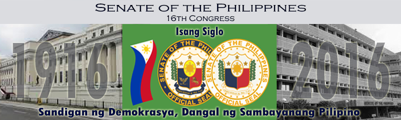 Senate of the Philippines banner