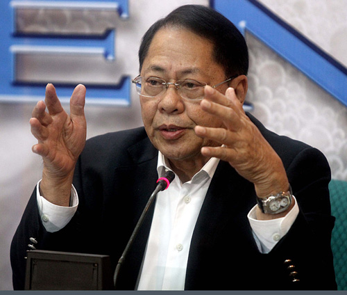 Edgardo Angara Angara on the Cybercrime Bill